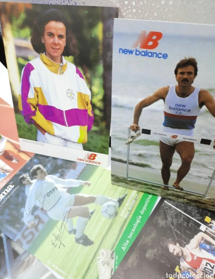 Coleccionismo deportivo: Lote de antiguas fotos imágenes y postales de deportistas - Foto 4 - 236071960