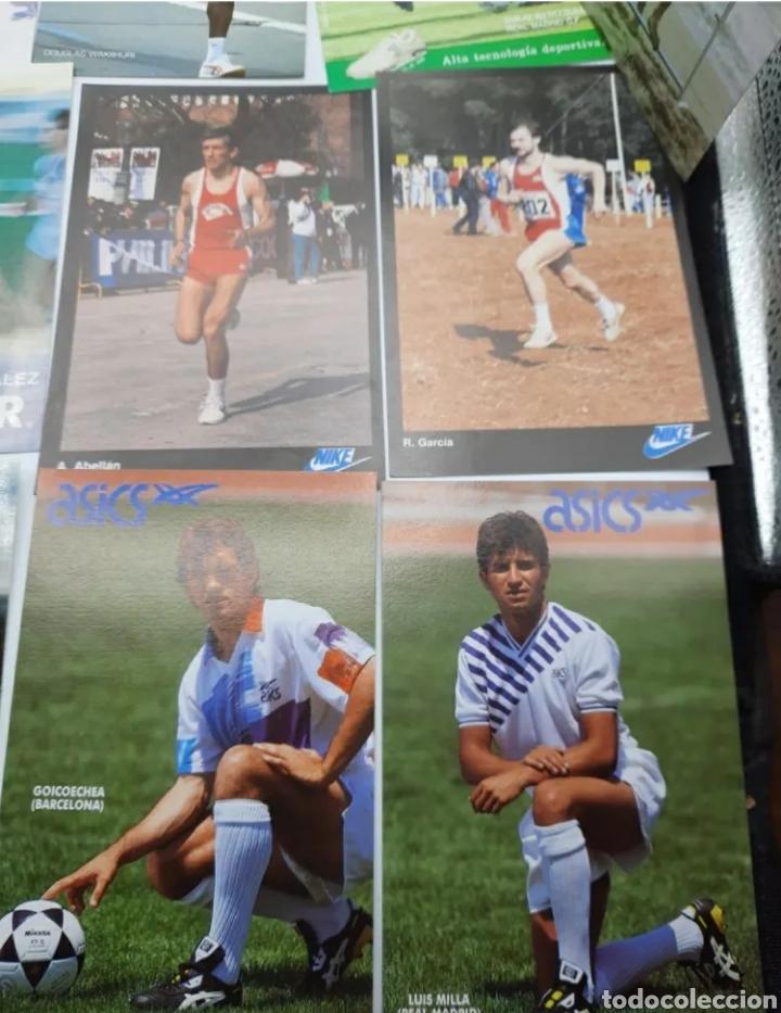 Coleccionismo deportivo: Lote de antiguas fotos imágenes y postales de deportistas - Foto 5 - 236071960