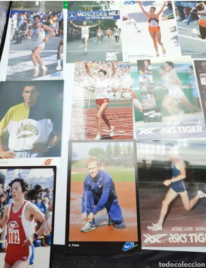 Coleccionismo deportivo: Lote de antiguas fotos imágenes y postales de deportistas - Foto 6 - 236071960