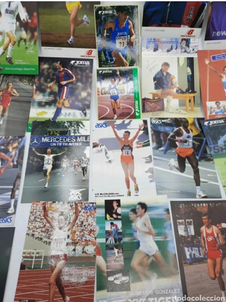 Coleccionismo deportivo: Lote de antiguas fotos imágenes y postales de deportistas - Foto 7 - 236071960