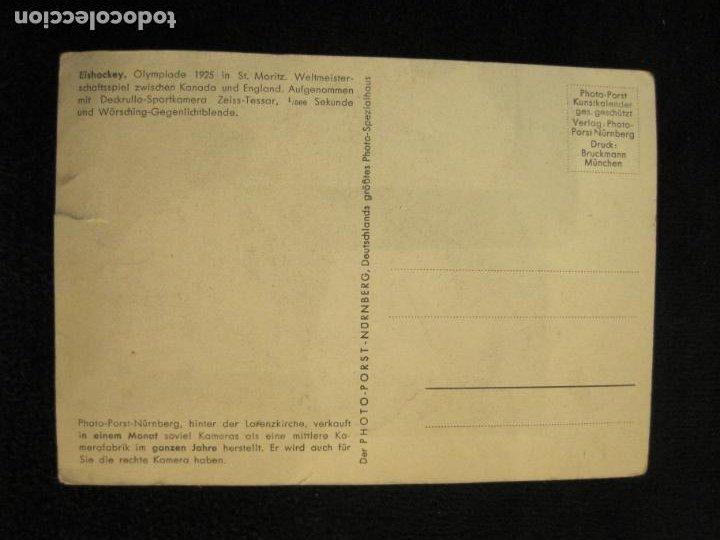 Coleccionismo deportivo: HOCKEY-EISHOCKEY-OLIMPIADA 1925-POSTAL ANTIGUA-VER FOTOS-(77.747) - Foto 4 - 244416825