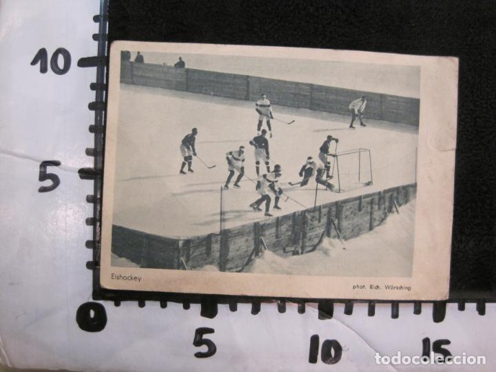 Coleccionismo deportivo: HOCKEY-EISHOCKEY-OLIMPIADA 1925-POSTAL ANTIGUA-VER FOTOS-(77.747) - Foto 5 - 244416825