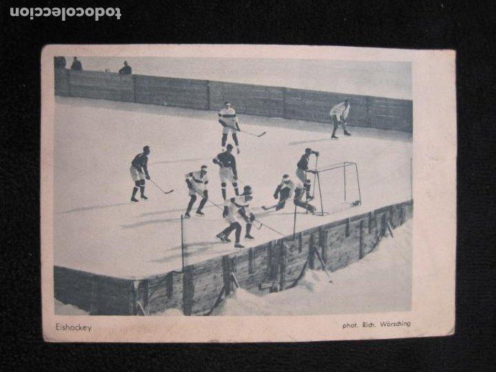 HOCKEY-EISHOCKEY-OLIMPIADA 1925-POSTAL ANTIGUA-VER FOTOS-(77.747) (Coleccionismo Deportivo - Postales de otros Deportes )