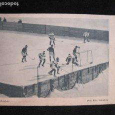 Coleccionismo deportivo: HOCKEY-EISHOCKEY-OLIMPIADA 1925-POSTAL ANTIGUA-VER FOTOS-(77.747). Lote 244416825