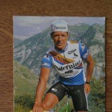 Coleccionismo deportivo: POSTAL EQUIPO CICLISTA PATERNINA AÑOS 90 HERMANNS CICLISMO VUELTA ESPAÑA GIRO ITALIA TOUR FRANCIA. Lote 245273975