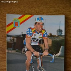 Coleccionismo deportivo: LOTE POSTALES EQUIPO CICLISTA TEKA AÑOS 80 CICLISMO VUELTA ESPAÑA GIRO ITALIA TOUR FRANCIA. Lote 245275300