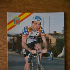 Coleccionismo deportivo: LOTE POSTALES EQUIPO CICLISTA TEKA AÑOS 80 CICLISMO VUELTA ESPAÑA GIRO ITALIA TOUR FRANCIA. Lote 245275625