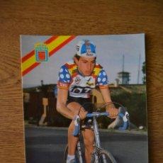 Coleccionismo deportivo: LOTE POSTALES EQUIPO CICLISTA TEKA AÑOS 80 CICLISMO VUELTA ESPAÑA GIRO ITALIA TOUR FRANCIA. Lote 245275890