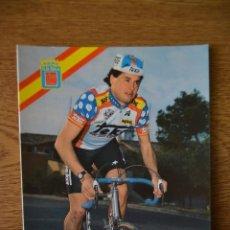 Coleccionismo deportivo: LOTE POSTALES EQUIPO CICLISTA TEKA AÑOS 80 CICLISMO VUELTA ESPAÑA GIRO ITALIA TOUR FRANCIA. Lote 245276105