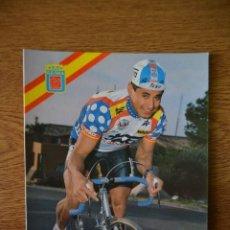 Coleccionismo deportivo: LOTE POSTALES EQUIPO CICLISTA TEKA AÑOS 80 CICLISMO VUELTA ESPAÑA GIRO ITALIA TOUR FRANCIA. Lote 245276360