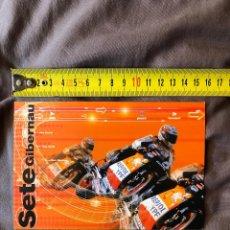 Coleccionismo deportivo: COLECCION POSTAL REPSOL HONDA SETE GIBERNAU, MOTO GP. Lote 245493120