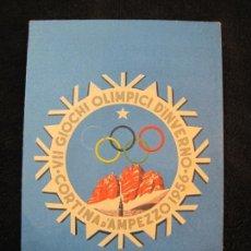 Coleccionismo deportivo: JUEGOS OLIMPICOS-VII GIOCHI OLIMPICI INVERNALI 1956-POSTAL ANTIGUA-VER FOTOS-(78.016). Lote 245713730
