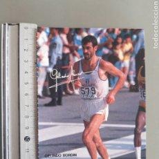 Coleccionismo deportivo: POSTAL ASICS ATLETA GELINDO BORDIN, SEUL 88. Lote 245736530