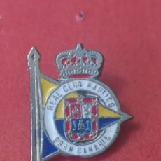 Coleccionismo deportivo: PINS DE CLUD NAUTICO. CLUD NAUTICO GRAN CANARIA. Lote 246447115