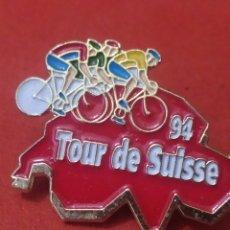 Coleccionismo deportivo: PINS DE CICLISMO. TOUR DE SUIZA 94. Lote 246478935
