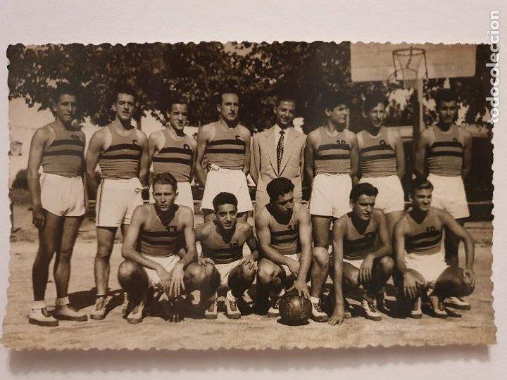 CLUB BASQUETBOL MATARÓ - BALONCESTO / BÁSQUET - P49811 (Coleccionismo Deportivo - Postales de otros Deportes )
