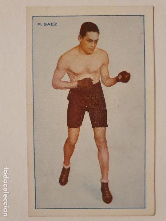 BOXEO - PEDRO SÁEZ - P49816 (Coleccionismo Deportivo - Postales de otros Deportes )