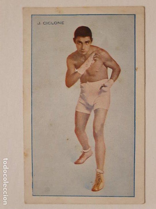 BOXEO - YOUNG CICLONE - P49818 (Coleccionismo Deportivo - Postales de otros Deportes )