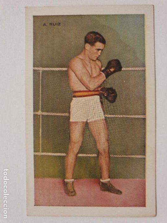 BOXEO - A. RUIZ - P49819 (Coleccionismo Deportivo - Postales de otros Deportes )