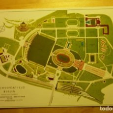 Coleccionismo deportivo: TARJETA POSTAL CAMPUS OLÍMPICO BERLÍN 1937 ALEMANIA. Lote 262083560