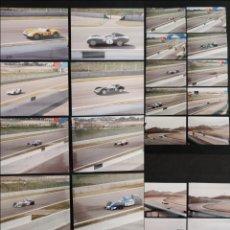 Coleccionismo deportivo: LOTE 25 FOTOS POSTALES CIRCUITO MONTMELÓ F1 1994 - QUALY Q3 Y CLÁSICOS. Lote 262246380