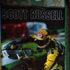 Coleccionismo deportivo: PÓSTER POSTERS MOTOCROSS SCOTT RUSSELL. Lote 262738205
