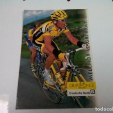 Coleccionismo deportivo: POSTAL DEL CICLISTA MELCHOR MAURI VUELTA 98. Lote 263037615