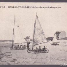 Coleccionismo deportivo: FRANCIA-62. HARDELOT-PLAGE. *GROUPE D´AÉROPLAGES* I.P.M. Nº 25. CIRCULADA 1927.. Lote 269255638