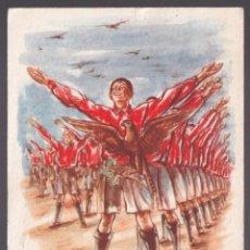 Coleccionismo deportivo: REPÚBLICA CHECA. *XI. VSESOKOLSKÝ SLETV PRAZE 1948* CIRCULADA 1948.. Lote 269256263