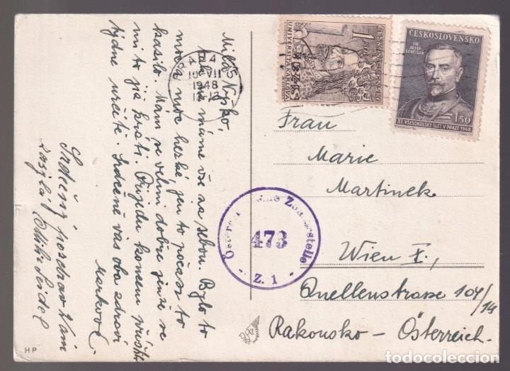 Coleccionismo deportivo: República Checa. *XI. Vsesokolský Sletv Praze 1948* Circulada 1948. - Foto 2 - 269256263