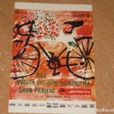 Colecionismo desportivo: POSTAL DE VUELTA CICLISTA A CATALUÑA 1965. Lote 270230363