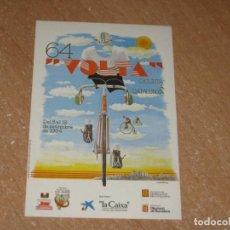 Coleccionismo deportivo: POSTAL DE VUELTA CICLISTA A CATALUÑA 1984. Lote 270237218