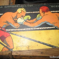 Coleccionismo deportivo: POSTAL JEUX OLYMPIQUES - PARIS 1924 - BOXE . JUEGOS OLIMPICOS BOXEO. Lote 276413108