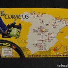 Colecionismo desportivo: VUELTA CICLISTA A ESPAÑA 2003 - SIN CIRCULAR - EDITA CORREOS - LOTE RESERVADO. Lote 276477758