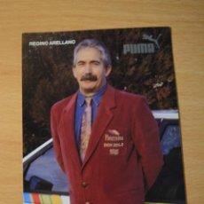 Coleccionismo deportivo: POSTAL DE REGINO ARELLANO DEL EQUIPO CICLISTA PATERNINA. Lote 276493048