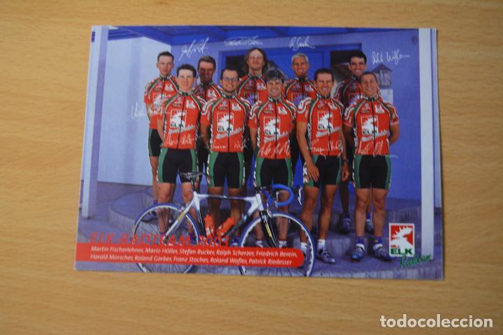 POSTAL DEL EQUIPO ELK RADTEAM 2003 (Coleccionismo Deportivo - Postales de otros Deportes )