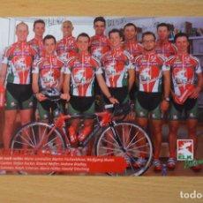 Coleccionismo deportivo: POSTAL DEL EQUIPO ELK RADTEAM 2004. Lote 276493988