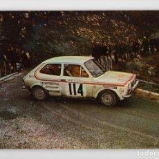 Coleccionismo deportivo: Nº 2 AUTOMÓVILES RALLYE. FIAT 127 ♦ ESCUDO DE ORO, 1975. Lote 276991343
