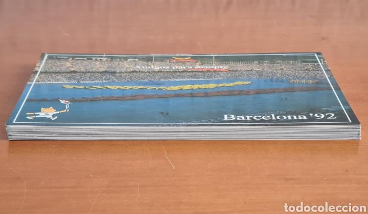 Coleccionismo deportivo: 16 Postales Colección Olímpica Barcelona 92 Momentos de la Ceremonia de Inauguración - Foto 7 - 277600838
