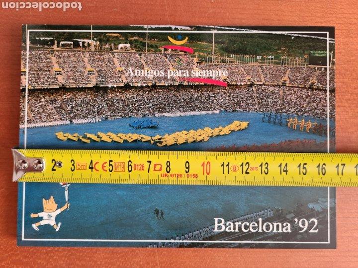 Coleccionismo deportivo: 16 Postales Colección Olímpica Barcelona 92 Momentos de la Ceremonia de Inauguración - Foto 8 - 277600838