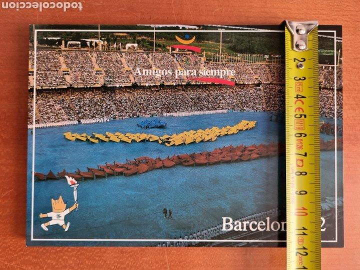 Coleccionismo deportivo: 16 Postales Colección Olímpica Barcelona 92 Momentos de la Ceremonia de Inauguración - Foto 9 - 277600838