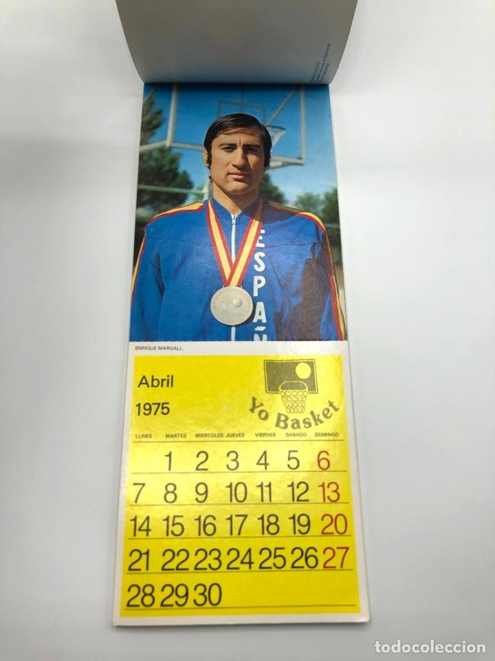 Coleccionismo deportivo: SELECCIÓN ESPAÑOLA DE BALONCESTO ESPAÑA CALENDARIO AÑO 1975-76 18 POSTALES POSTAL BASKET - Foto 5 - 278212553