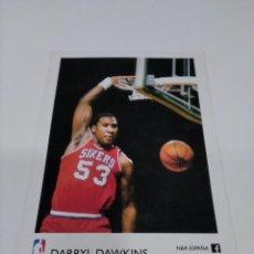Coleccionismo deportivo: POSTAL NBA DARRYL DAWKINS - PHILADELPHIA.. Lote 279450463