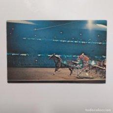 Coleccionismo deportivo: POSTAL ESTADOS UNIDOS. BRANDYWINE RACEWAY RACING DELAWARE. SIN ESCRIBIR. CABALLOS. 50-60S 8,5X14. Lote 281392308
