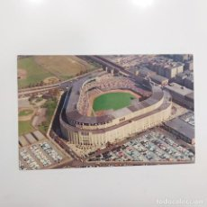 Coleccionismo deportivo: POSTAL ESTADOS UNIDOS. AIRVIEW OF YANKEE STADIUM NEW YORK YANKEES. ESTADIO ANTIGUO BEISBOL. Lote 281788738