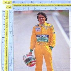Coleccionismo deportivo: POSTAL DE DEPORTES. AUTOMOVILISMO F1 FORMULA 1 BENETTON. PILOTO NELSON PIQUET BRASIL. 216. Lote 286016043