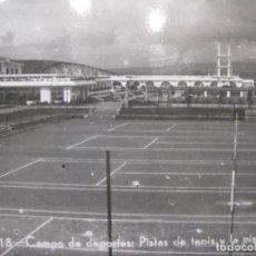 Coleccionismo deportivo: LA TOJA-CAMPO DE DEPORTES-PISTA DE TENIS Y LA PISCINA-ED·LA POLIGRAFICA-POSTAL ANTIGUA-(83.687). Lote 286550948