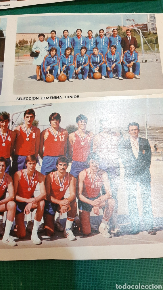 Coleccionismo deportivo: FOTOS BALONCESTO SELECCIONES ESPAÑA - Foto 3 - 287778513