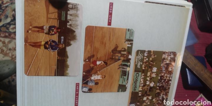 Coleccionismo deportivo: Lote de 9 fotografías del campeonato mundial de damas de años 70 - Foto 3 - 287990613