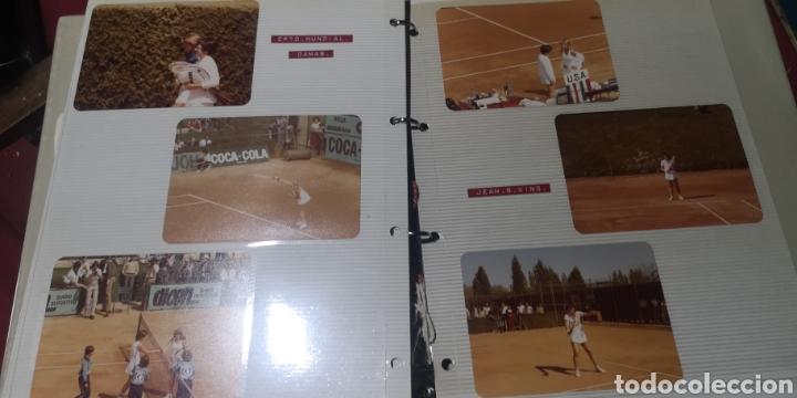 LOTE DE 9 FOTOGRAFÍAS DEL CAMPEONATO MUNDIAL DE DAMAS DE AÑOS 70 (Coleccionismo Deportivo - Postales de otros Deportes )